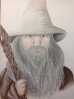 Gandalf the Grey by Saphirylis