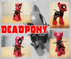 MLP:FiM - Custom Toy - Deadpony by zillford