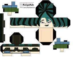 Cubeecraft: Gwen by amigodtodo