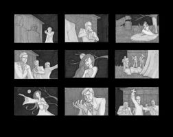 Dracula Storyboards by EpicTones