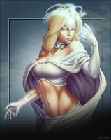 Commish 315: Emma Frost by rhardo