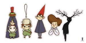 over the garden wall charms by weiliwonka