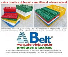 Caixa plastica dobravel by ABeltGroup
