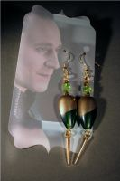 Loki Inspired Earrings by KouranKiyo