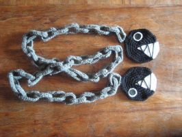chain chomp scarf by lady-demeter