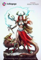 Hero Sorceress by Mikeypetrov