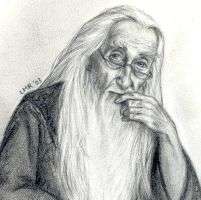 Dumbledore from OoP - LMRourke by Snitch-HPClub
