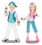 Jimmy and Sarah the Pokemon Trainers by MCsaurus