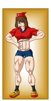 Commission - May Muscle Growth (2/6) by FudgeX02