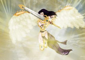 Akroma, Angel of Wrath by DadMoraes