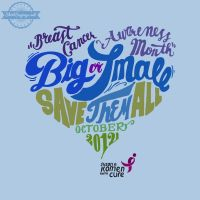 Big or Small, Save Them All (light blue close up) by ShirtSayings