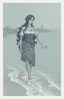 Lairanen, By the Sea by Galadnilien
