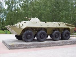 BTR-70 by FPSRussia123
