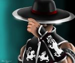 Kung Lao Drawing by AllenThomasArtist