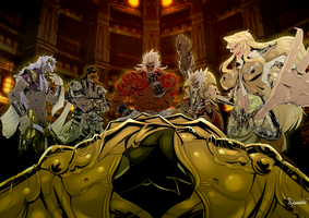 Asura's Wrath Interval Drama 50 by sidneymadmax