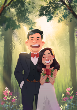Johnny and Elaine 2017 by Roggles