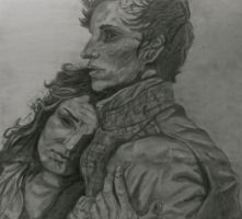 Marius and Eponine by PrincessPadme57