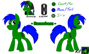 Razorbass REFERENCE SHEET by Fundz64
