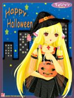 Happy Halloween from Chii by winter-fall