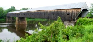 Cornish-Windsor Covered Bridge by Ificial-Art