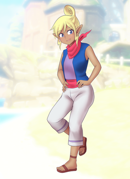 Non-chibi Tetra WW by Rezuban