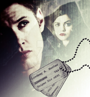 Dean Winchester  and Aria ( Pretty little liars ) by SerenneShy