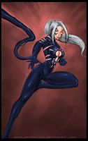Commission: Black Cat by johnbecaro