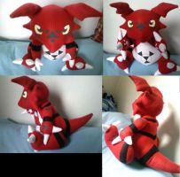 Gulimon Plush by LRK-Creations