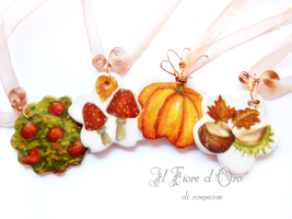 Autumn morsels by rosepeonie