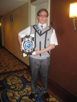 Otakon 2011 Wheatley Cosplay by fredfredburger9000