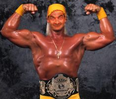 Hulk Hogan - Mr Bean by k1dy