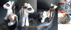 My little pony custom Katiuska Butterfly by AmbarJulieta