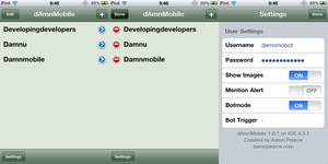 dAmnMobile v1.0.1 by Pickley