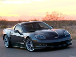 Chevrolet Corvette ZR1 2009 by TheCarloos
