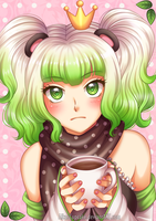 SS: Mint Hot Chocolate by AikasCupcake