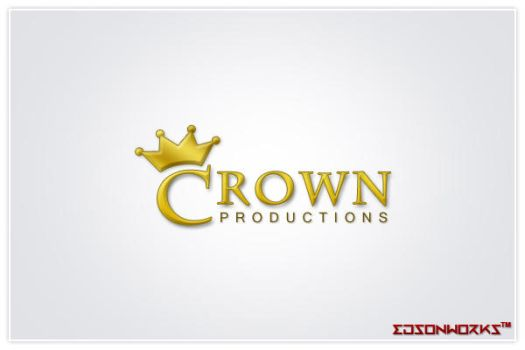 Crown Productions - logo by edsonworks