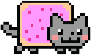 Giant Nyan Cat by Daieny