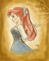 Ariel and Sebastian by Annrose001
