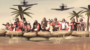 The Pacific Theater, TF2 Style by iKonakona