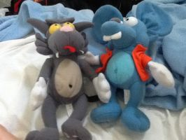 Itchy and scratchy by Portalmsterking