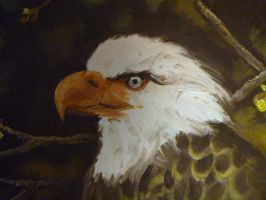 Eagle Painting by Karinart8