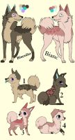 Breedable Pups Adoption 15 CLOSED by MichelsAdoptions