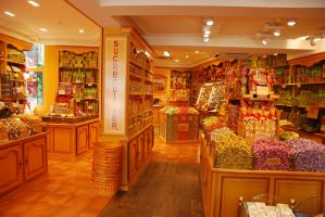 candy shop in bruges - belgium by life-is-pichi
