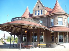 Beautiful Durand Station by DraftHorseTrainer