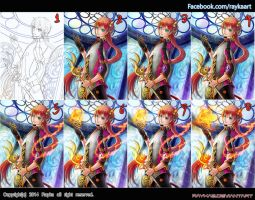 step by step by rayka2