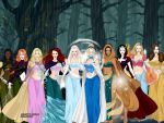 Disney Girls by mshamblin
