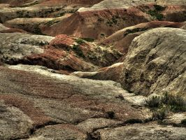 Badlands in HDR by draqza