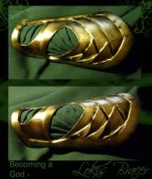Becoming a God- Lokis Bracer by GuiltyOne