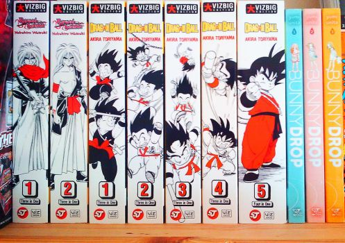 Manga Collection Part 4 by Trinity-DBZ