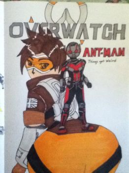 Ant-Man Overwatch by Niininaac36